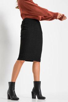 Urban Knitted Pencil Skirt - 262133