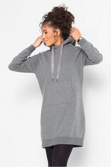 Urban Longline Hooded Sweater - 262161