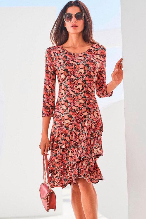 Heine Ruffle Skirt Dress