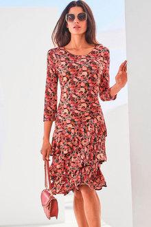 Heine Ruffle Skirt Dress - 262198