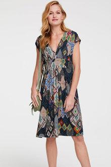 Heine Wrap Front Dress - 262208