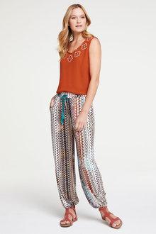 Heine Soft Printed Pants - 262211