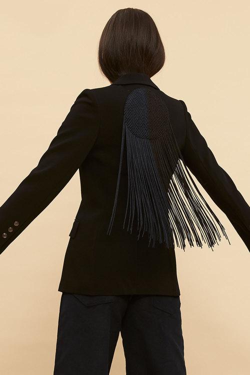 Ginger & Smart Eclipse Tassel Back Jacket