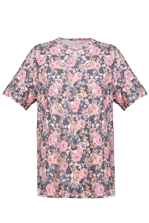 Ginger & Smart Floral Charts Tee