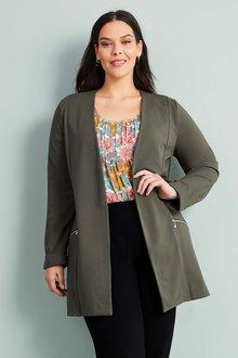 Sara Ponti Zip Jacket - 262263