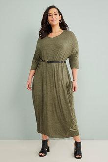 Sara Drape Dress - 262266