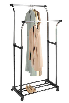 Whitmor Deluxe Double Garment Rack - 262282
