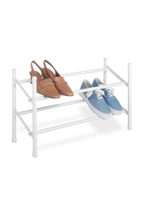 Whitmor Expanding 2 Tier Shoe Rack