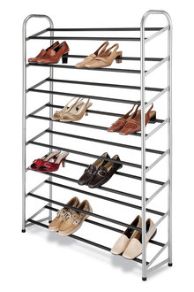 Whitmor 8-Tier 40-Pair Shoe Tower - 262294