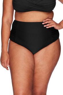 Artesands Side Rouched, High Waist Tummy Control Swim Pant - 262346
