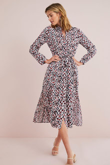 Capture Midi Shirt Dress - 262356