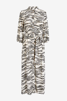 Next Midi Shirt Dress - 262438