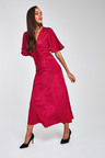 Next Ruched Midi Dress