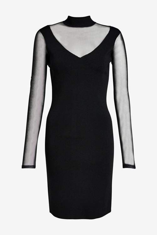 Next Sheer Sleeve Dress