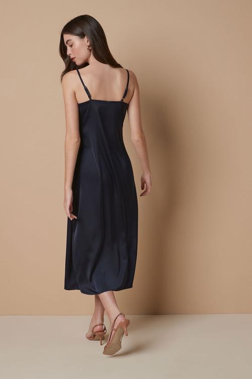 Next Strap Satin Dress