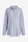 Next Maternity Chambray Spot Shirt