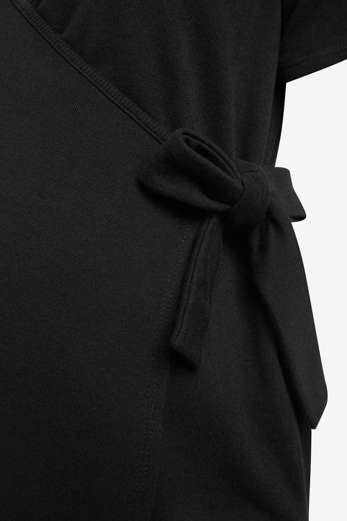 Next Maternity/Nursing Sweat Wrap Top