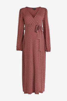 Next Maternity Wrap Dress - 262548