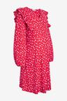 Next Maternity/Nursing Ruffle Dress