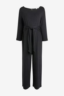 Next Maternity Jersey Tie Waist Jumpsuit - 262558