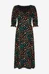 Next Short Sleeve Midi Dress