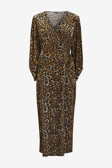 Next Devore Wrap Dress - 262607