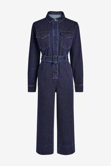 Next Emma Willis Belted Boiler Jumpsuit - 262622
