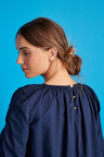Next Ruched Sleeve Smock Dress