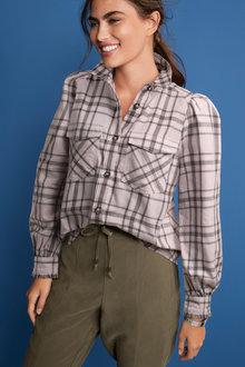 Next Puff Sleeve Shirt - 262705