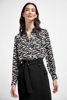 Next Lace Trim Shirt - 262707