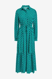 Next Tie Waist Shirt Dress - 262709