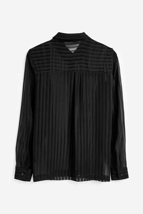 Next Emma Willis Sheer Stripe Shirt
