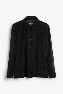 Next Emma Willis Sheer Stripe Shirt - 262710
