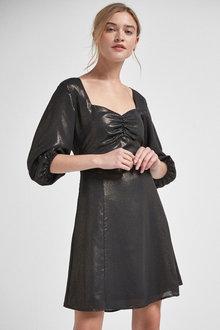 Next Sweetheart Neck Mini Dress - 262713