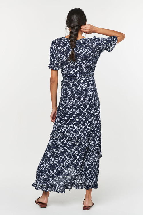 Next Wrap Maxi Dress