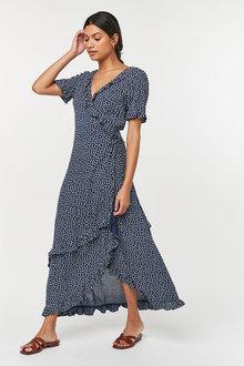 Next Wrap Maxi Dress - 262755