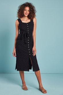 Next Embroidered Dress - 262761
