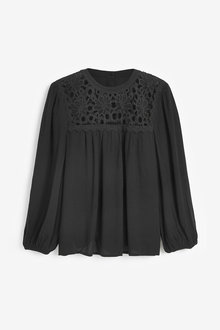 Next Lace Panel Top - 262762