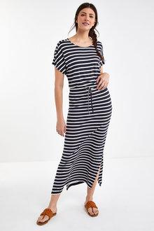 Next Short Sleeve Maxi Dress - 262777