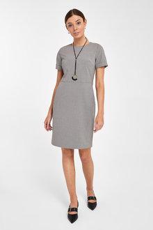 Next Tailored Shift Dress - Tall - 262794