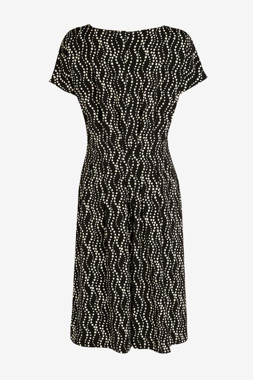Next Waist Detail Short Sleeve Dress - Tall