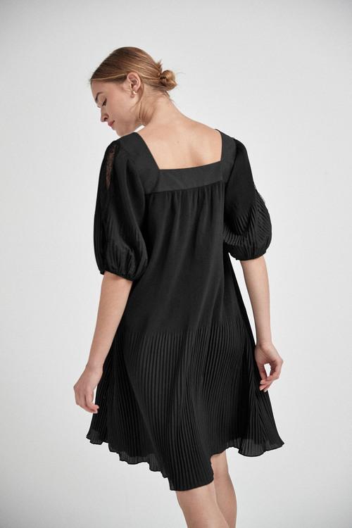 Next Pleat Dress - Tall