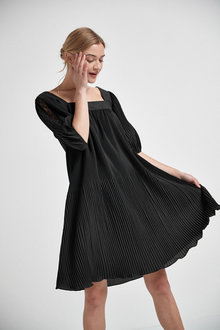 Next Pleat Dress - Tall - 262827