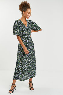 Next Midi Tea Dress - Tall - 262828