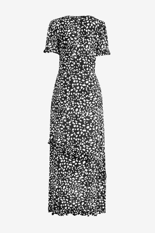 Next Wrap Maxi Dress - Tall