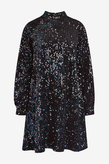 Next Velvet Sequin Dress - 262857