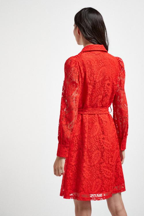Next Lace Shirt Dress - Tall