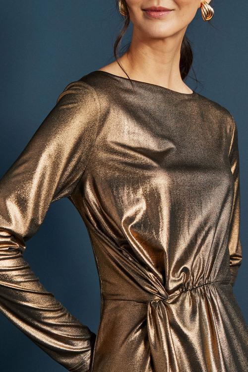 Next Knot Waist Bodycon Dress - Tall