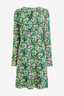 Next Vintage Style Tea Dress - Tall - 262874