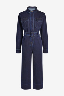 Next Emma Willis Belted Boiler Jumpsuit - 262880